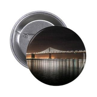 Bay Bridge 2 Inch Round Button
