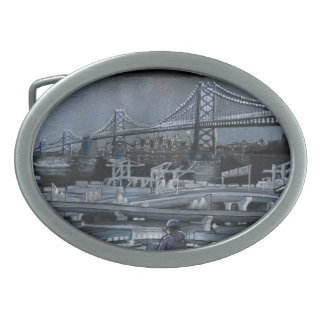 Bay Bridge Belt Buckle