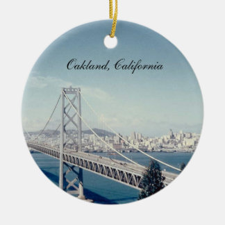 Bay Bridge California Ornament