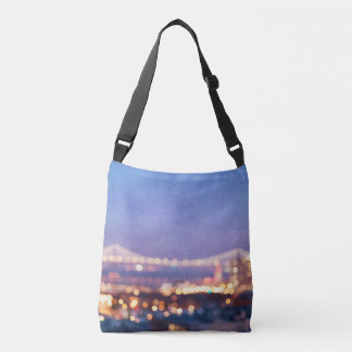 Bay Bridge Glow San Francisco Photo Bag
