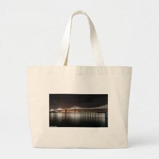 Bay Bridge Large Tote Bag