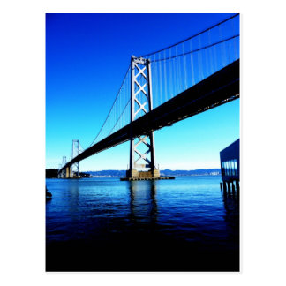 Bay Bridge Northern California San Francisco Postcard