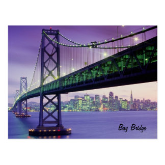 Bay Bridge Postcard