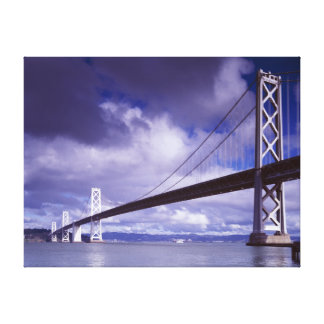Bay Bridge San Francisco,Ca-Stretched Canvas Print