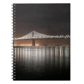 Bay Bridge Spiral Notebook