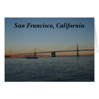 Bay Bridge & Yerba Buena Island #3 Card