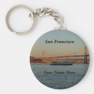 Bay Bridge & Yerba Buena Island #4-2 Keychain