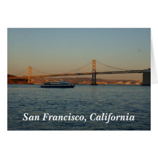 Bay Bridge & Yerba Buena Island #4 Card