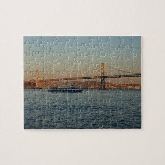 Bay Bridge & Yerba Buena Island #4 Jigsaw Puzzle