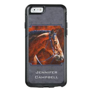 Bay Hanoverian Horse Slate Gray OtterBox iPhone 6/6s Case