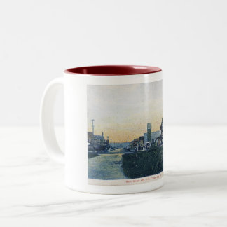 Bay Head, New Jersey, Main St, Vintage Two-Tone Coffee Mug
