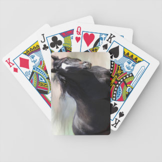 Bay Horse Bicycle Playing Cards