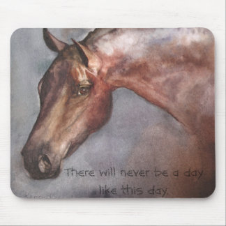 Bay Horse Mouse Pad