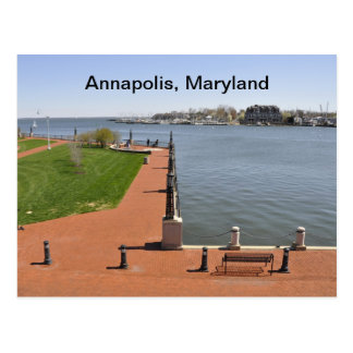 Bay in Annapolis, Maryland Postcard