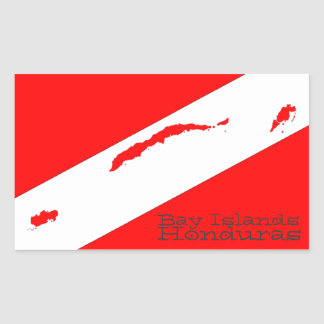 Bay Islands Scuba Sticker