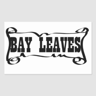 BAY LEAVES 'SPICE JAR' STICKER