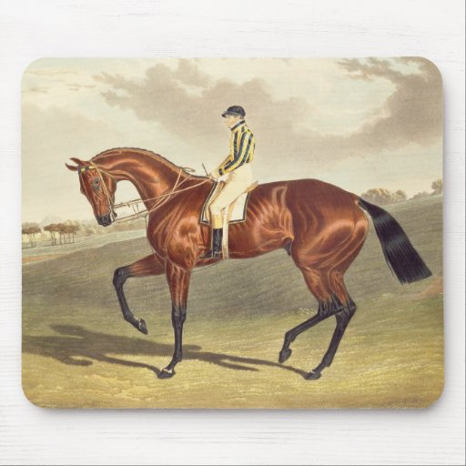 Bay Middleton, winner of the Derby in 1836, after Mousepads
