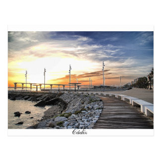 Bay of Cadiz Postcard