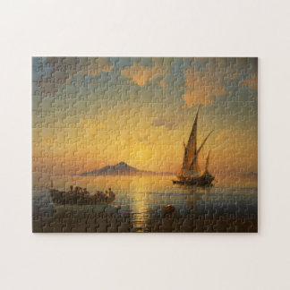 Bay of Naples - Ivan Aivazovsky - Seascape Watersc Jigsaw Puzzle