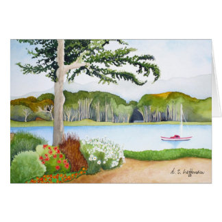 Bay Side View card