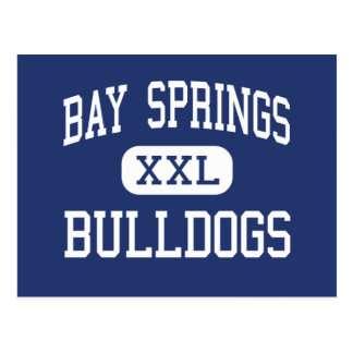 Bay Springs Bulldogs Middle Bay Springs Postcard