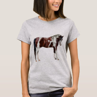 Bay Tobiano Paint Horse T-Shirt