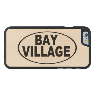 Bay Village Ohio Carved Maple iPhone 6 Case