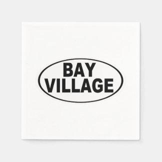 Bay Village Ohio Paper Napkins