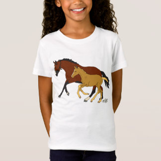 Bay with her Colt T-Shirt