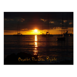 Bayahibe Sunset, Bayahibe, Dominican Republic Postcard
