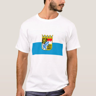 Bayern / Bavaria Flag with Arms T-Shirt