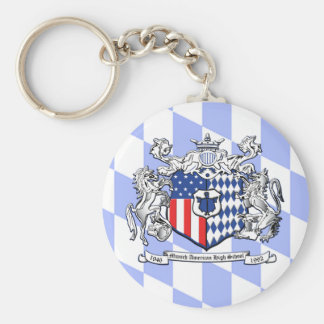 Bayern MAHS Crest Basic Round Button Keychain