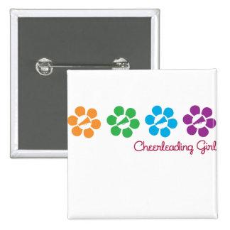 Bayflower Cheerleading Button