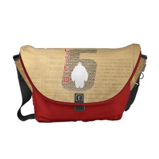 Baymax 6 Pattern Messenger Bags