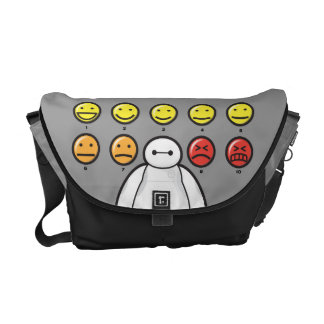 Baymax Emojicons Commuter Bags