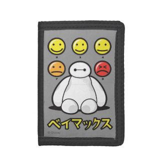 Baymax Emojicons Tri-fold Wallet