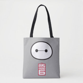 Baymax Face Outline Tote Bag