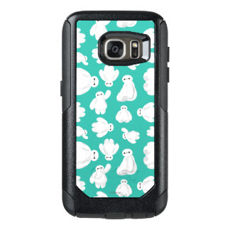 Baymax Green Classic Pattern OtterBox Samsung Galaxy S7 Case