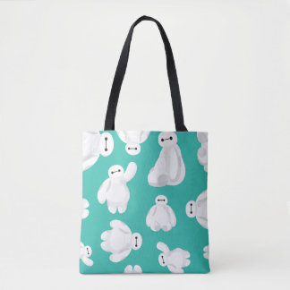 Baymax Green Classic Pattern Tote Bag