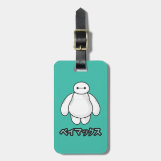 Baymax Green Graphic Tags For Bags