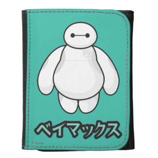 Baymax Green Graphic Trifold Wallet