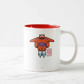 Baymax Orange Super Suit Two-Tone Coffee Mug