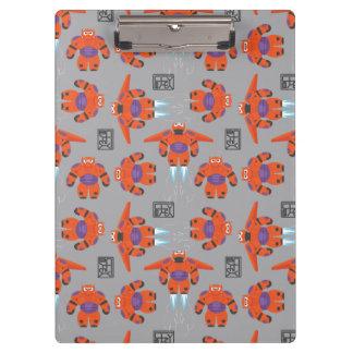 Baymax Orange Supersuit Pattern Clipboards