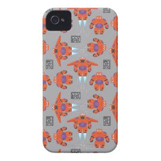 Baymax Orange Supersuit Pattern iPhone 4 Case-Mate Cases