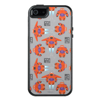 Baymax Orange Supersuit Pattern OtterBox iPhone 5/5s/SE Case