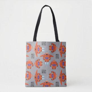Baymax Orange Supersuit Pattern Tote Bag