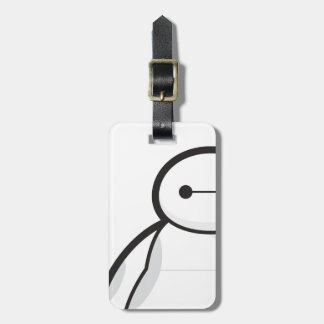 Baymax Standing Tag For Bags
