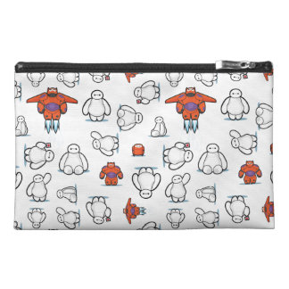 Baymax Suit Pattern Travel Accessory Bags