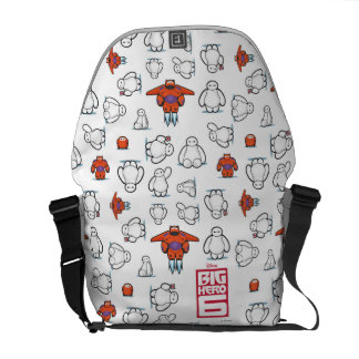 Baymax Super Suit Pattern Messenger Bag