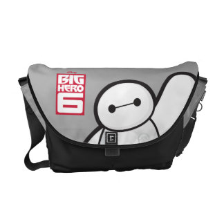 Baymax Waving Courier Bags